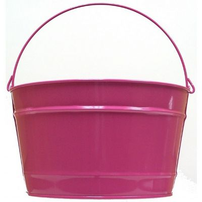 Witt Outdoor 16 Qt Pail Pink Radiance Steel W-W16PCPR