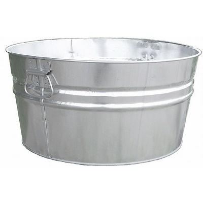 Witt Outdoor 19 Gal. Tub Galvanized Steel W-W14300