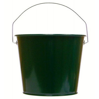 Witt Outdoor 5 Qt Pail Hunter Green Steel W-W5PCHG