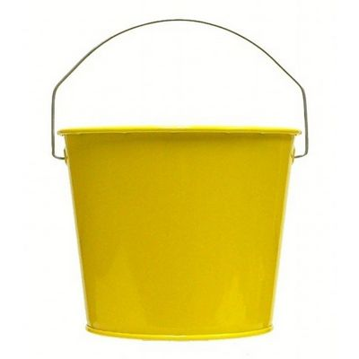 Witt Outdoor 5 Qt Pail Sunshine Yellow Steel W-W5PCSY