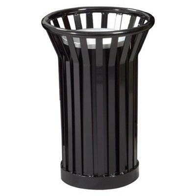 Witt Outdoor Ash Urn Black Steel - Wydman W-WC2000-BK
