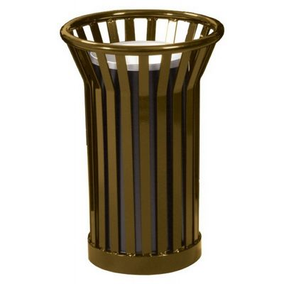 Witt Outdoor Ash Urn Brown Steel - Wydman W-WC2000-BN
