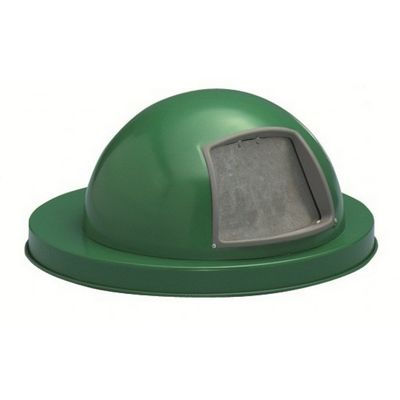Witt Outdoor Dome Top Lid Green Steel W-M3601-DTL-GN