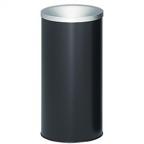 Witt Indoor/Outdoor Ash urn Black Pre-Galvanized Steel W-2000-BK