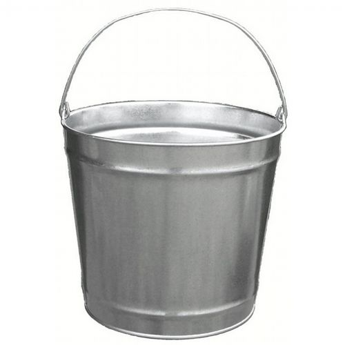 Witt Outdoor 12 Qt Pail Galvanized Steel W-W10120