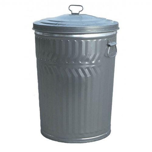 Witt Outdoor 20 Gal. Can Galvanized Steel with Lid W-WCD20CL