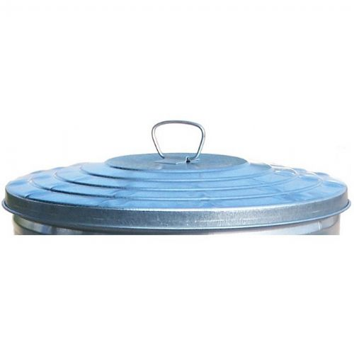 Witt Outdoor 24 Gal. Lid Galvanized Steel Light Duty W-WCD24L
