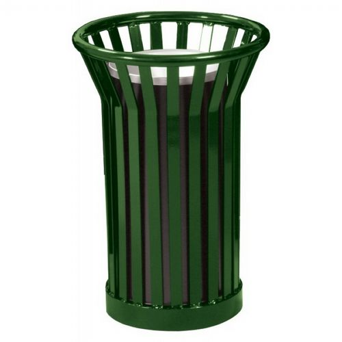 Witt Outdoor Ash Urn Green Steel - Wydman W-WC2000-GN