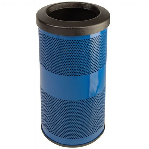 Witt Outdoor Perforated Receptacle 10 Gal Steel W Sc10 01