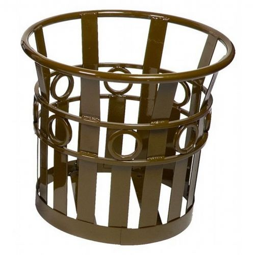 "Witt Outdoor Planter 22"" Brown Steel - Decorative W-PL2220-BN"