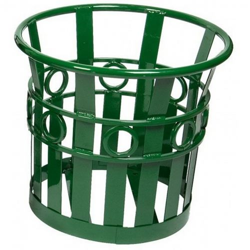 "Witt Outdoor Planter 22"" Green Steel - Decorative W-PL2220-GN"