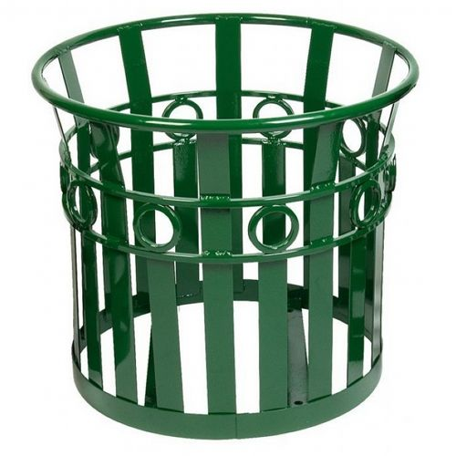 "Witt Outdoor Planter 27"" Green Steel - Decorative W-PL2724-GN"