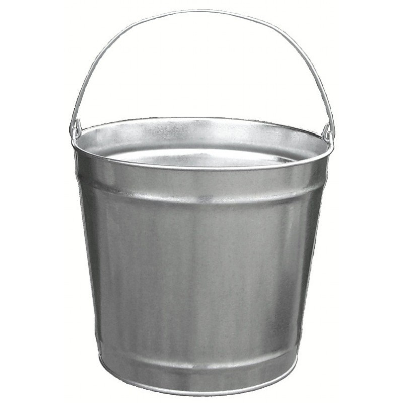 Witt Outdoor 12 Qt Pail Galvanized Steel