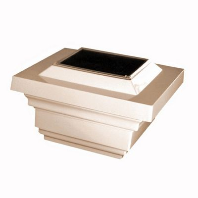 4x4 PVC Regal Solar Post Cap - Tan SL078T