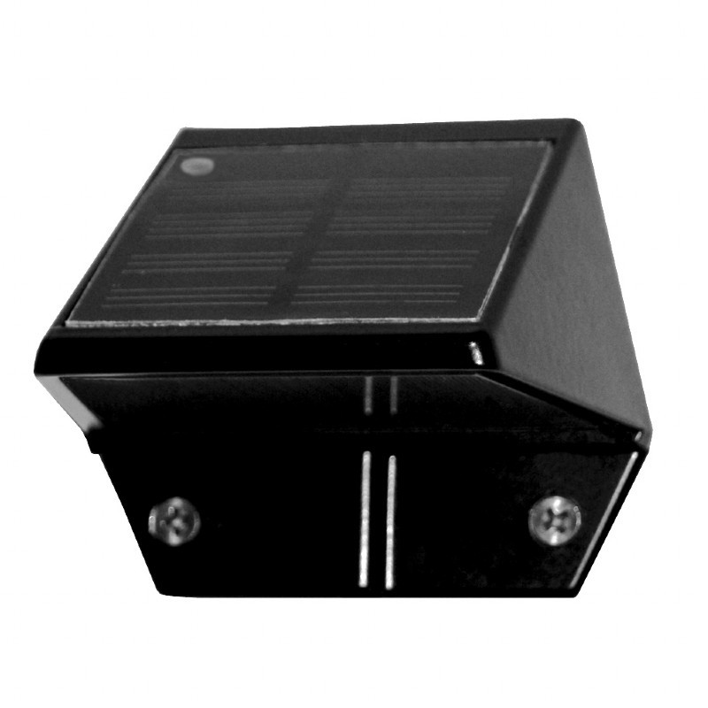 Black Aluminum Deck & Wall Light - Black