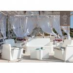 Amod Miami Deep Seating Set White 4 piece MODI-ME4S