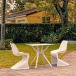 Bloom Outdoor Dining Set with 2 Chairs White ISP0483S