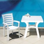 Sunshine Marina Resin Dining Set 5 piece ISP016S4P