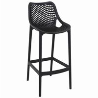 Air Outdoor Bar High Chair Black ISP068