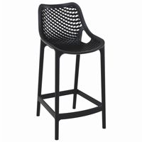 Air Outdoor Counter High Chair Black ISP067