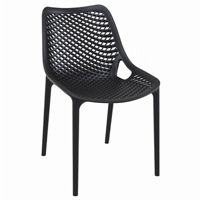 Air Outdoor Dining Chair Black ISP014