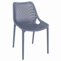 Air Outdoor Dining Chair Dark Gray ISP014