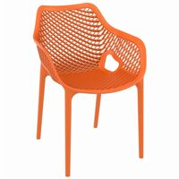 Air XL Outdoor Dining Arm Chair Orange ISP007