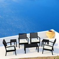Artemis XL Outdoor Club Seating set 7 Piece ISP004S7