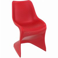 Bloom Contemporary Dining Chair Red ISP048