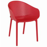 Sky Outdoor Indoor Dining Chair Red ISP102
