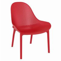 Sky Outdoor Indoor Lounge Chair Red ISP103