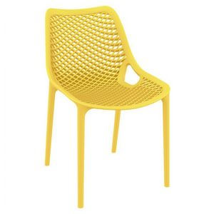 Air Outdoor Dining Chair Yellow ISP014-YEL