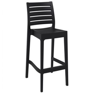 Ares Outdoor Barstool Black ISP101