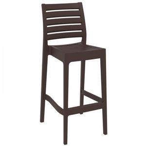 Ares Outdoor Barstool Brown ISP101