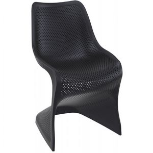 Bloom Contemporary Dining Chair Black ISP048
