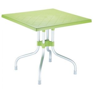 Forza Square Folding Table 31 inch - Apple Green ISP770