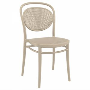 Marcel Resin Outdoor Chair Taupe ISP257