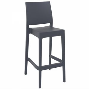 Maya Outdoor Barstool Dark Gray ISP099