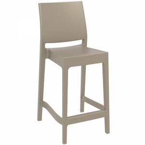 Maya Outdoor Counter Stool Taupe ISP100