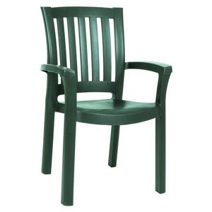 Sunshine Resin Arm Chair Green ISP015-GRE