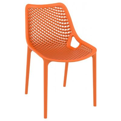 Air Outdoor Dining Chair Orange ISP014-ORA