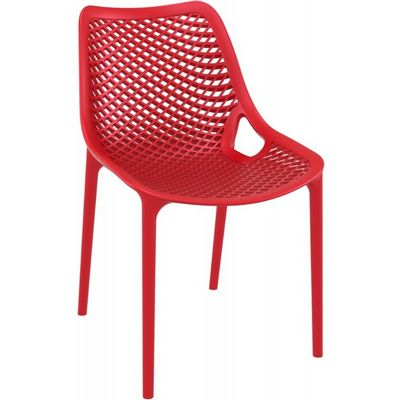 Air Outdoor Dining Chair Red ISP014