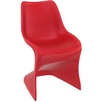 Bloom Contemporary Dining Chair Red ISP048-RED
