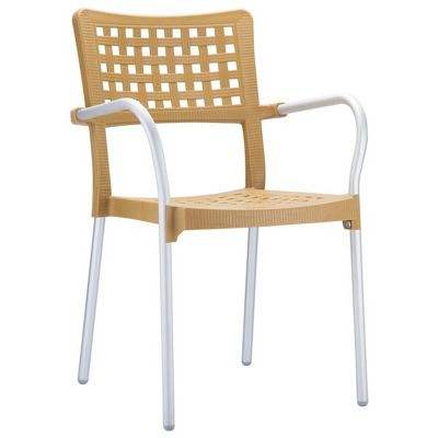 Gala Outdoor Arm Chair Teak ISP041