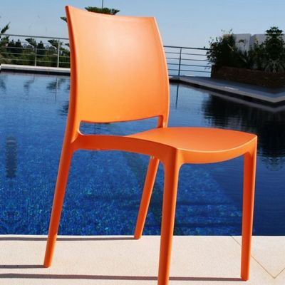 Orange Maya Dining Chair from Siesta