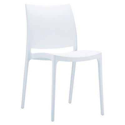 Maya Dining Chair White ISP025-WHI