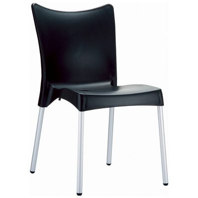 RJ Resin Outdoor Chair Black ISP045