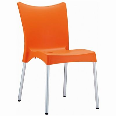 RJ Resin Outdoor Chair Orange ISP045