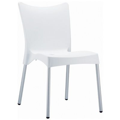 RJ Resin Outdoor Chair White ISP045-WHI