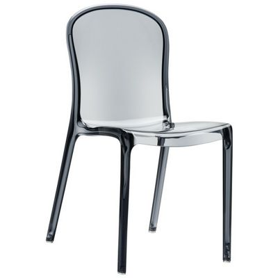 clear plastic furniture. Victoria Clear Plastic Outdoor Bistro Chair Gray Furniture O